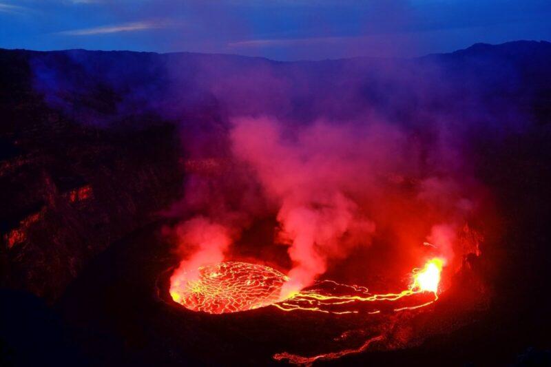 コンゴの火山