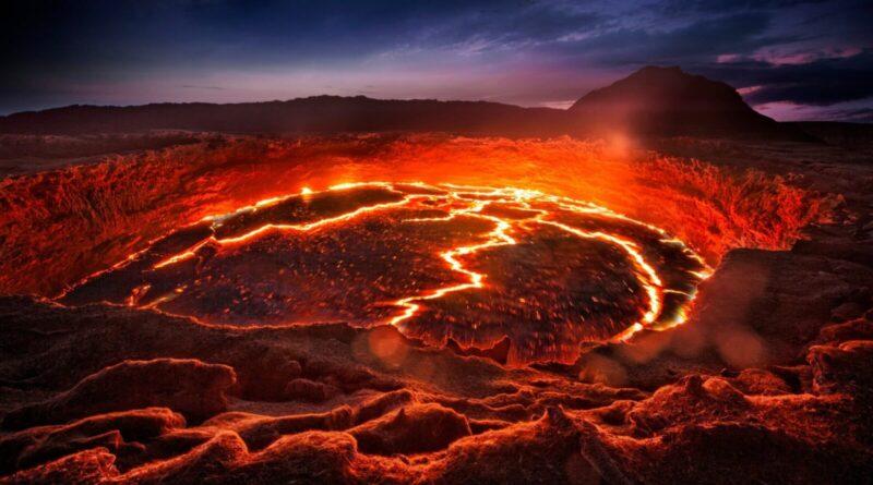 エチオピアの火山