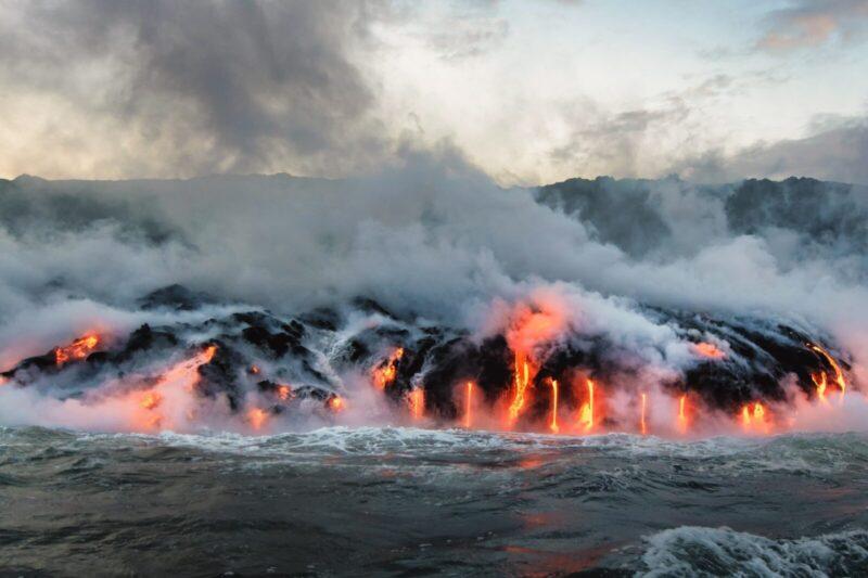 ハワイの火山